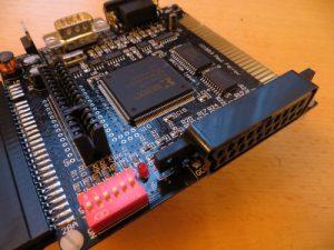 SPECTRA Interface DIP Schalter und Scartanschluss