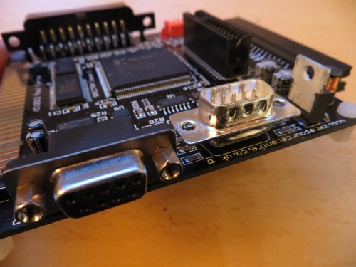 SPECTRA Interface RS232 und Joystickanschluss