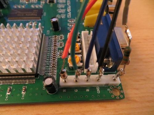 GBS8200 Verkabelung für QL