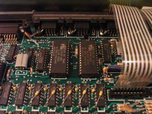 QL Platine - ROM's vorm Entfernen