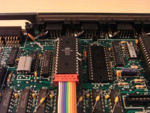 QL-SD ROM Adapter eingebaut