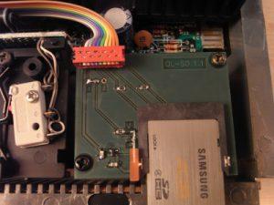 QL-SD Laufwerk eingebaut
