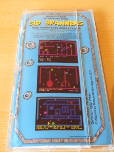 Sid Spanners - Hülle Rückseite