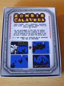Zombie Calaverda - Hülle Rückseite