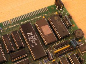 Harlequin - Interface Anschluss und Z80