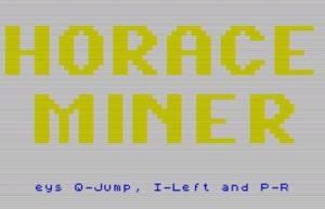 HoraceMiner - Menü