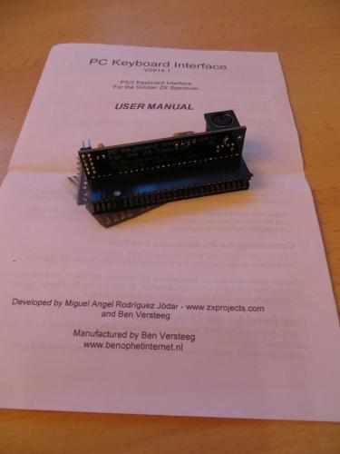 PC Keyboard Interface mit Anleitung