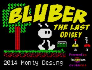 Bluber - Menü