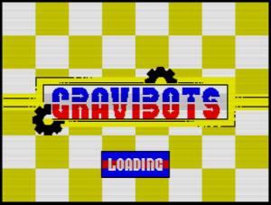 GraviBots - Ladescreen