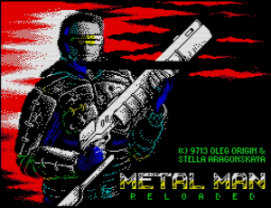 Metal Man Reloaded - Titelscreen