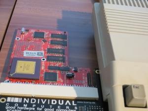 ACA1232 am Amiga 500