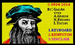 Leonardo lost last invention - Menü