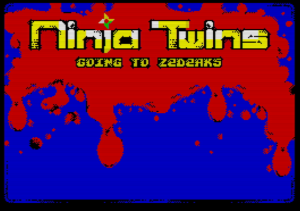 Ninja twins: Going to Zedeaks - Ladescreen