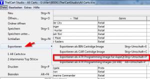 The!Cart Studio - Export