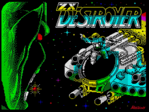 ZX Destroyer - Ladescreen