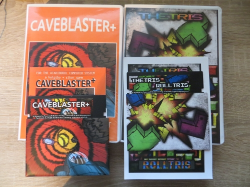 Caveblaster und Thetris/Rolltris Sammler-Edition