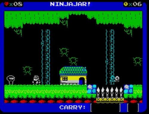 Ninjajar - Screen