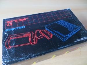 ZX Printer - Verpackung Unterseite
