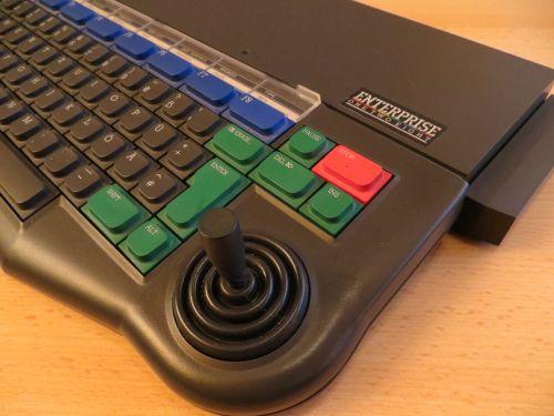 Enterprise 128 - Joystick