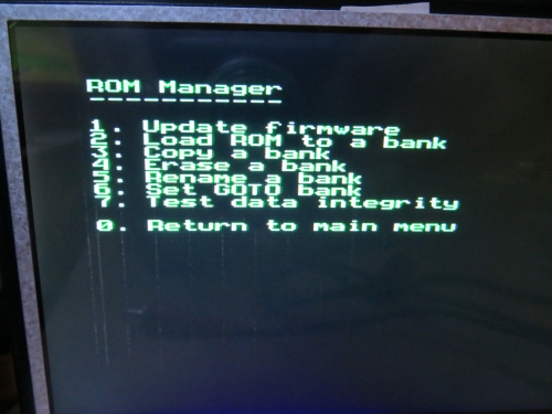 MART Card - ROM Manager
