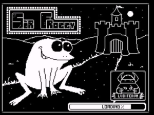 Sir Froggy - Ladescreen