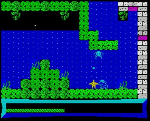 Sir Froggy - Screen