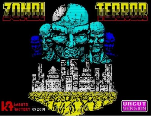 Zombi Terror - Ladescreen
