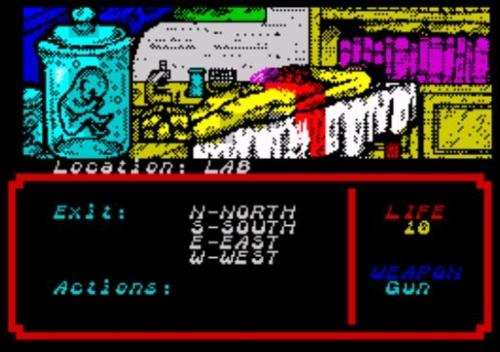Zombi Terror - Screen