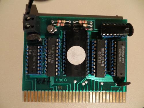 Apple IIe - E80C Karte
