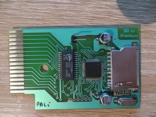 Enterprise - SD Card Interface - Oberseite