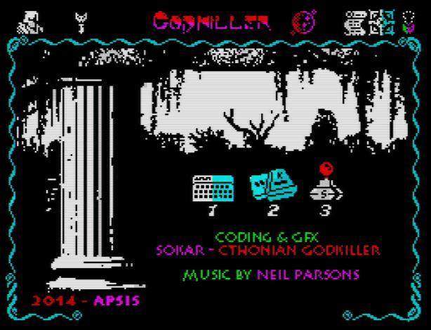 Godkiller - Startscreen