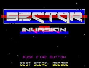 Sector Invasion - Menü
