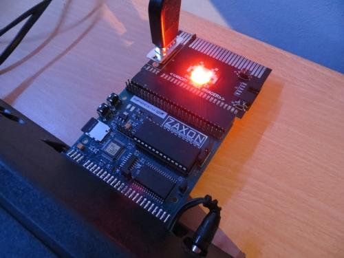 DivMMC by Zaxon - angeschlossen
