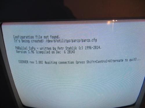 PARCP - Server Atari