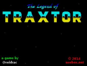 The Legend Of Traxtor - Ladescreen