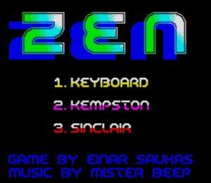 ZEN - Menü