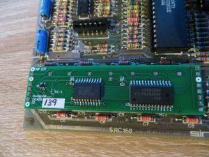 Lower RAM Reparatur - Lower RAM Board eingesetzt
