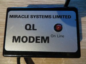QL Modem - Oberseite