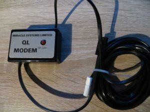 QL Modem - komplett