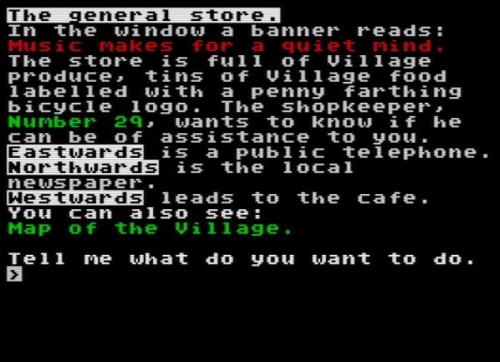 The Prisoner - Screen