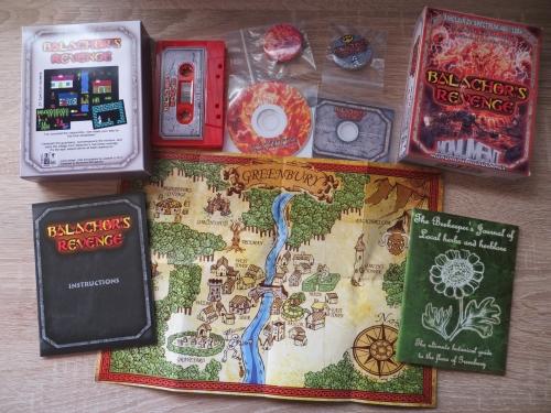 Balachors Revenge - Special Edition Big Box von Monument Microgames
