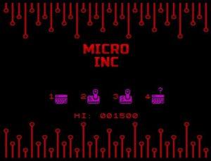 micro Inc - Menü