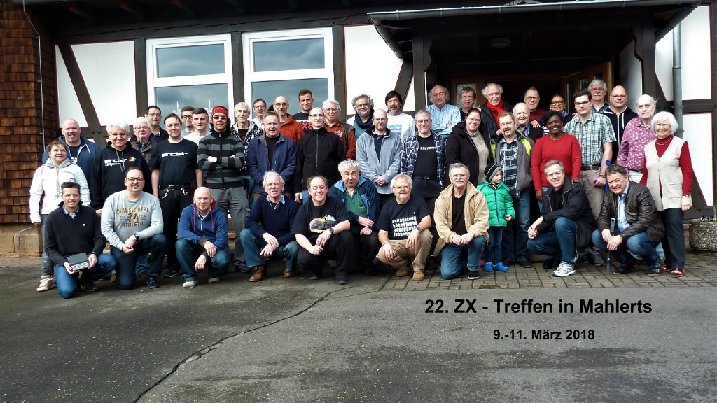 22. ZX Team Meeting - Gruppenbild