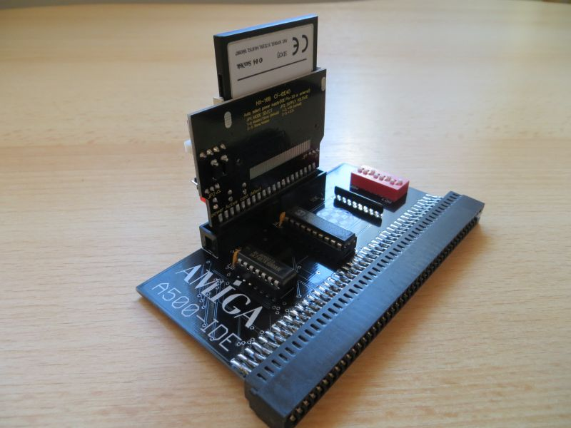 A500-IDE mit CF Adapter