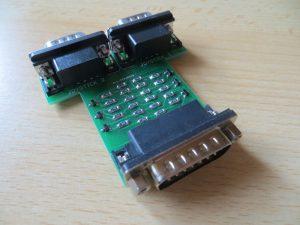 corn BBC to Atari_C64 Joystick Adapter