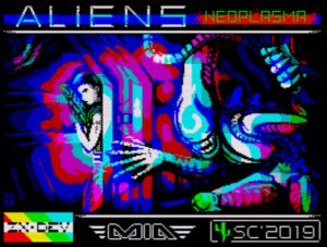 Aliens Neoplasma - Ladescreen