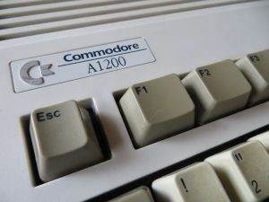 Amiga 1200 Commodore Logo