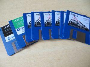 Amiga 1200 Disketten