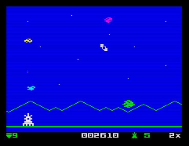 AstroSmash! ZX - Screen