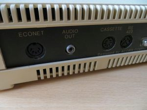 BBC Master 128 - Anschlüsse ECOET und Audio